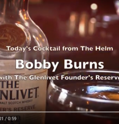 "Cocktail Recipe: ""Bobby Burns"" w/ The Glenlivet Founder's Reserve"