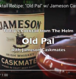 "Cocktail Recipe: ""Old Pal"" w/ Jameson Caskmates"