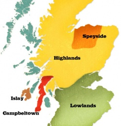 Whisky Regions of Scotland